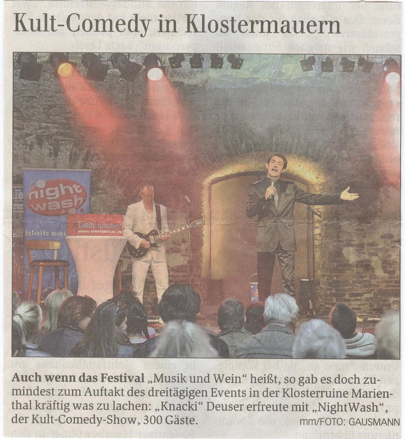 Kult Comedy in Klostermauern 2011 001