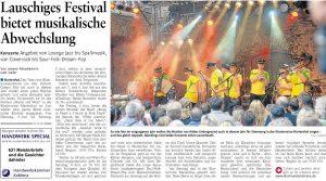 Rheinzeitung Artikel März 2015